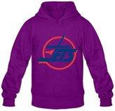 Enlove Winnipeg Jets Thin Long-Sleeve Hoodies For Male Size L