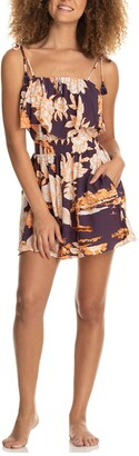 Maaji Trapeze Floral Cover-Up Romper