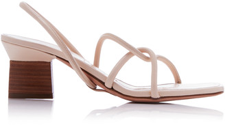 Rosetta Getty Pipe Strap Slingback Sandals