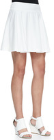 Alice + Olivia LuAnn Wide-Waist Flared Skirt