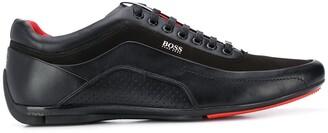 HUGO BOSS Suede Panel Sneakers