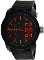 Diesel Men's DZ1777 Black Silicone Quartz Sport Watch