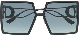 Christian Dior 30Montaigne oversized-frame sunglasses