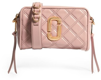 Marc Jacobs The Leather Softshot Quilted Cross-Body Bag