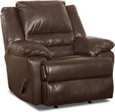 Asstd National Brand Big & Tall Marcus Faux-Leather Recliner