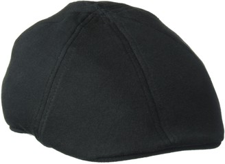 Sean John Men's Lightweight Cotton 6 Panel Flat Cap Ivy