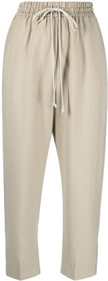Forte Forte Drawstring Cropped Trousers