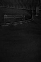 Balmain Motocross-style low-rise skinny jeans