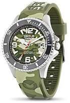 Sector Men's R3251161007 Analog Display Quartz Multi-Color Watch
