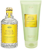 4711 Acqua Colonia - Lemon + Ginger Duo Set by 2pcs Set)