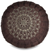 Lace Round Toss Pillow