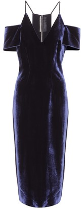 Roland Mouret Exclusive to Mytheresa Goldney velvet dress