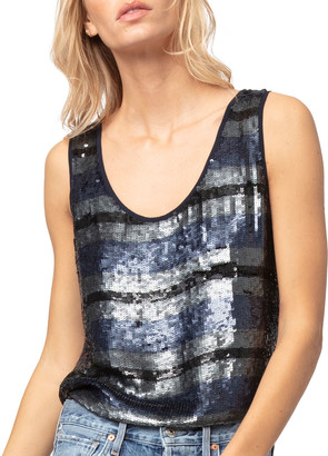 As By Df The Rugby Sequin Tank