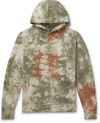 Nike Tie-Dyed Loopback Cotton-Jersey Hoodie