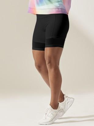 Athleta Mesh Me Up Stash Pocket 8'' Short