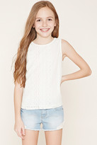 Forever 21 FOREVER 21+ Girls Crochet Top (Kids)