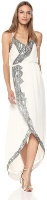 Haute Hippie Women's Soleil Embellished WRAP Dress