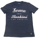 7 For All Mankind Men's Logo Crewneck Tee (X-Small