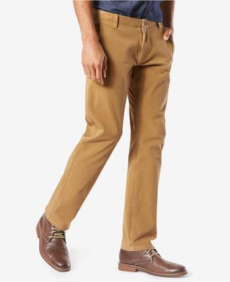 Dockers Men Alpha Smart 360 Flex Slim Tapered Fit Khaki Stretch Pants