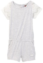 7 For All Mankind Lace Romper (Little Girls)