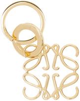 Loewe Gold Anagram Keychain
