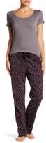 Joe Fresh Drawstring Jersey Print Pants