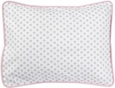 New Arrivals Inc. New Arrivals Stella Gray Standard Sham - Gray/ White/ Pink