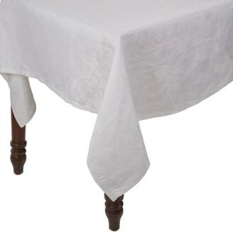 Le Jacquard Français Le Jacquard Francais Linen Tivoli Damask Tablecloth (175cm x 175cm)