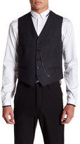 The Kooples Five Button Wool Vest