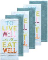 The Big One 6-pc. To Live Well Kitchen Towel Set