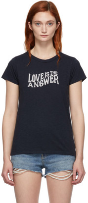Rag & Bone Navy Love T-Shirt
