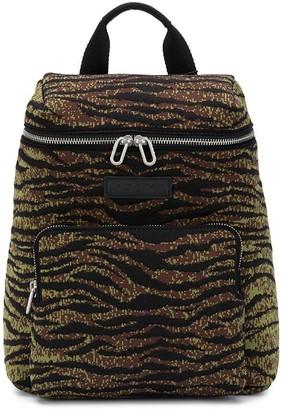 Kenzo Tiger Print Zipped Backpack
