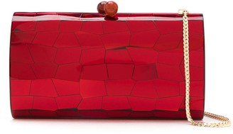 Serpui Marie Mosaic Mirrored clutch