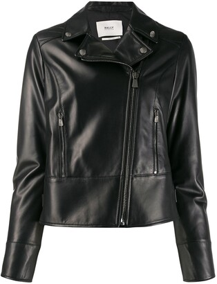 Bally Fitted Biker Jacket