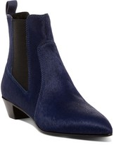 Marc by Marc Jacobs Lou Pointed Toe Genuine Calf Hair Chelsea Boot