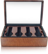 Forzieri Brown Leather Eight-Watch Box