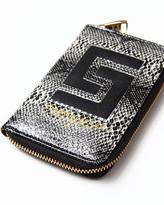 Crooks & Castles reptillo zip wallet