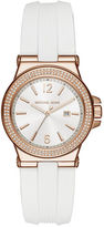 Michael Kors 33mm Mini Dylan Silicone Watch