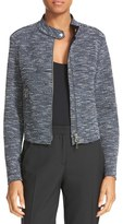 Theory Women's Bavewick K Tweed Zip Front Jacket