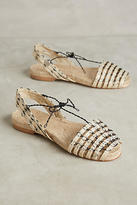 Anthropologie Ball Pages Open-Toe Espadrilles