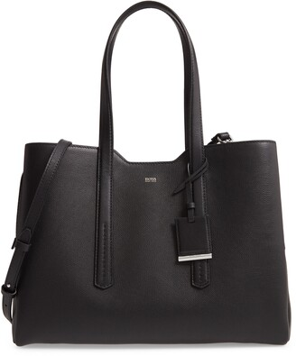 HUGO BOSS Taylor Business Leather Tote