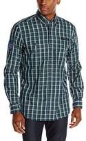 U.S. Polo Assn. Men's Long-Sleeve Plaid Shirt