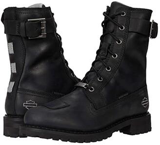 Harley-Davidson Bremerton 7 Lace (Black) Women's Boots