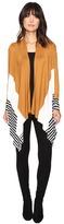 Culture Phit Leda Color Block Cardigan
