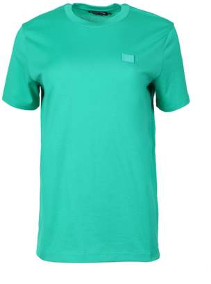 Acne Studios ellison face t-shirt emerald green