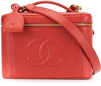 Chanel Pre Owned 1998 CC vanity case