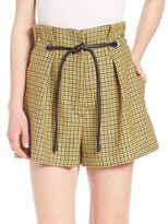3.1 Phillip Lim Origami Wool Pleated Shorts