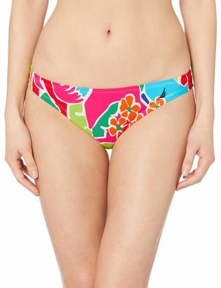 Nautica Women's Midrise Core Full Coverage Bikini Bottom Swimsuit
