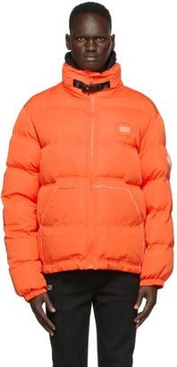 Ader Error Orange Down Masking Jacket