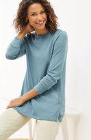 J. Jill Side-Snap Pullover